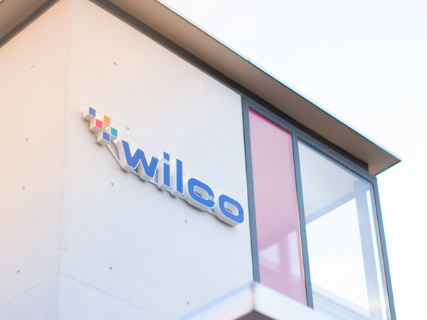 New WILCO logo on building