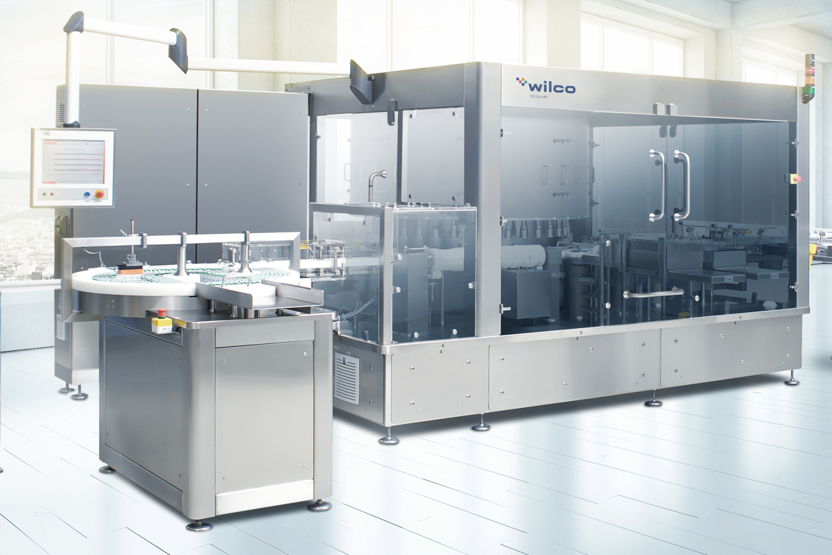 WILCO automated CCI tester for vials, ampoules, syringes